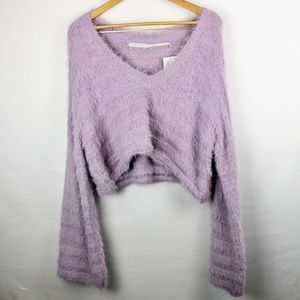 NWT Urban Outfitters Oversized Cropped Sweater